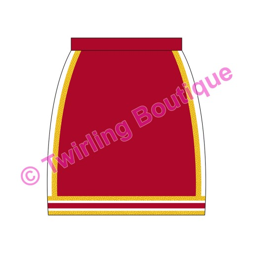 Jupe Cheerleader Personnalisable A2