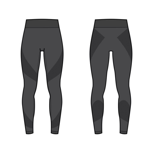 Legging Twirling Noir