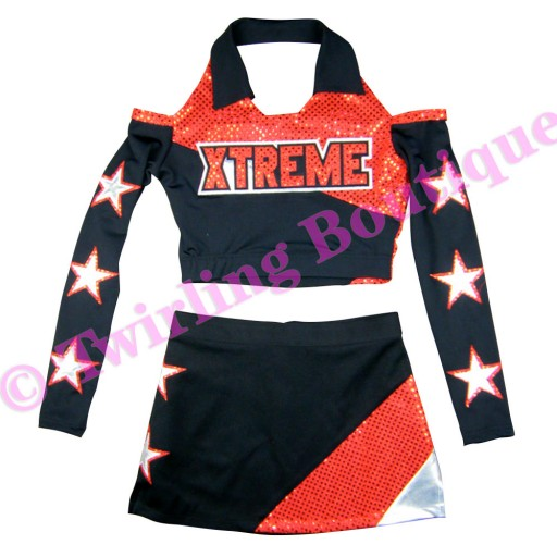 Tenue Cheerleader Personnalisable TC12