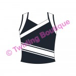 Top  Cheerleader Personnalisable D2