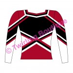 Top  Cheerleader Personnalisable M2