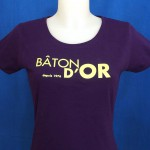 "Tee Shirt ""Bâton d'Or"""