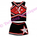 Tenue Cheerleader Personnalisable TC04