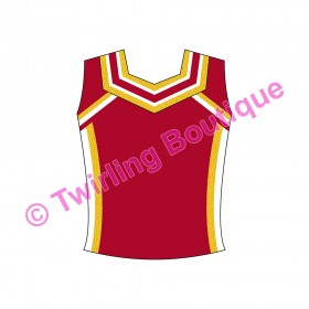 Top  Cheerleader Personnalisable A2