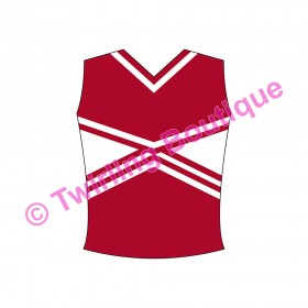 Top  Cheerleader Personnalisable F2