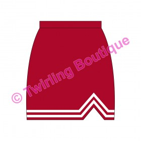Jupe Cheerleader Personnalisable F2