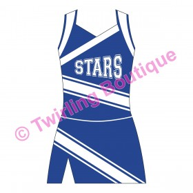 Tenue Cheerleader Personnalisable D2