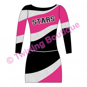 Tenue Cheerleader Personnalisable E2