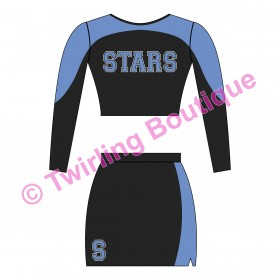 Tenue Cheerleader Personnalisable V3