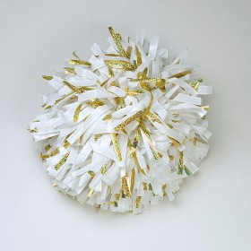 Pompon américain hologram showpoms 8""