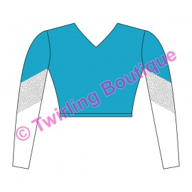 Top  Cheerleader Personnalisable R2