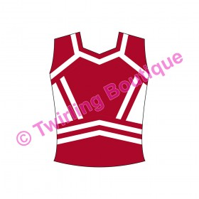 Top  Cheerleader Personnalisable T2