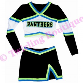 Tenue Cheerleader Personnalisable TC01