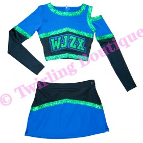 Tenue Cheerleader Personnalisable TC02