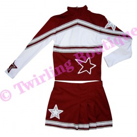 Tenue Cheerleader Personnalisable TC03
