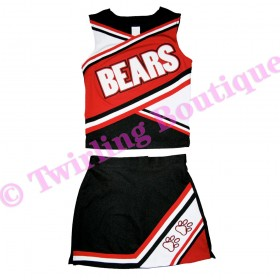 Tenue Cheerleader Personnalisable TC05