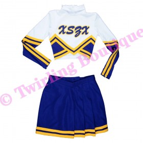 Tenue Cheerleader Personnalisable TC06