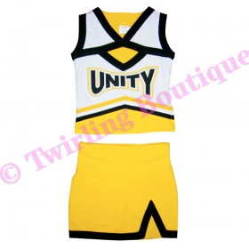 Tenue Cheerleader Personnalisable TC07