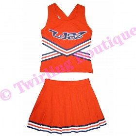 Tenue Cheerleader Personnalisable TC08