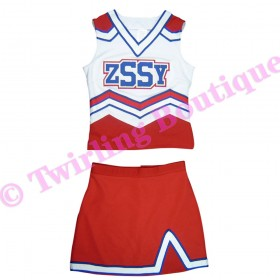 Tenue Cheerleader Personnalisable TC09