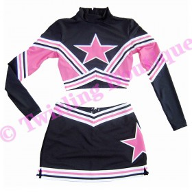 Tenue Cheerleader Personnalisable TC10