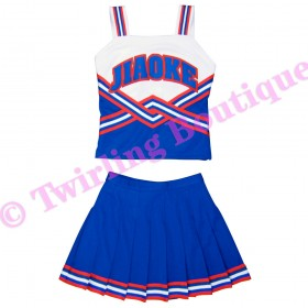 Tenue Cheerleader Personnalisable TC11