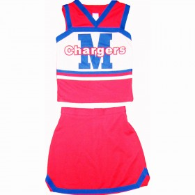 Tenue Cheerleader Personnalisable L1