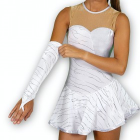 Tenue de twirling Glam Velours en 36