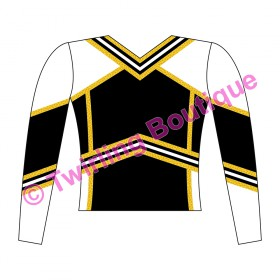 Top  Cheerleader Personnalisable W2