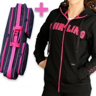 "Pack ""Black Pink"" - Veste + Super Housse"