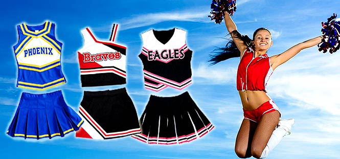 Tenue cheerleader